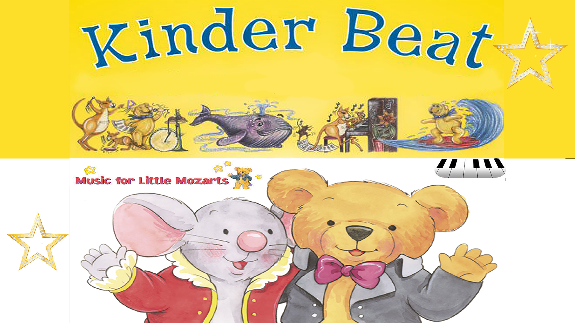 KINDERBEAT / MUSIC FOR LITTLE MOZARTS